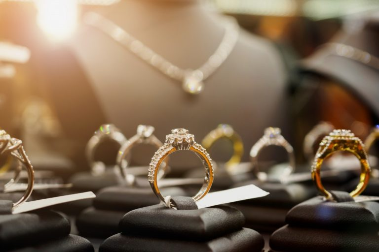 rings and jewelry