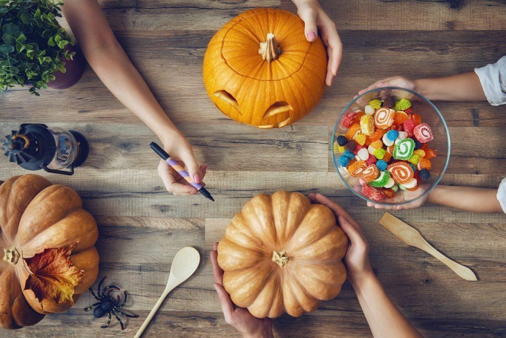 Halloween-Themed food